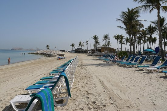 JA Jebel Ali Beach Hotel: The beach