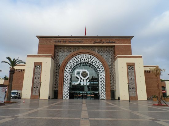 Station Marrakesh : Station from the outside