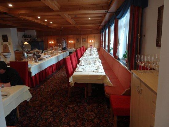 Postwirt: Dining area