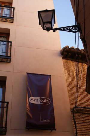 Antidoto Rooms: In the heart of Toledo