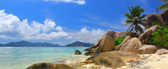 Cote d'Or Chalets: Beach on La Digue