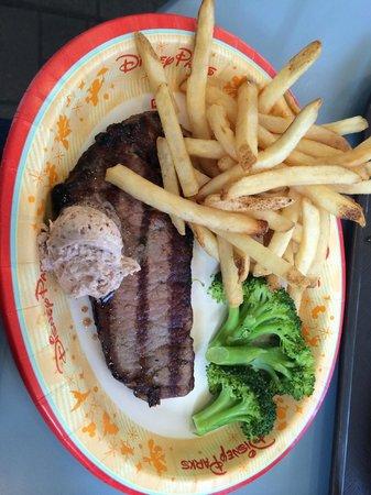 EPCOT : New York Strip Steak from Liberty Inn - Quick Service