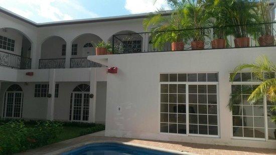 Hotel Executive Managua: Terraza