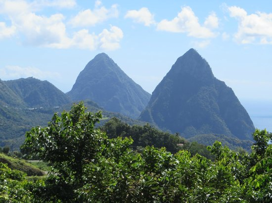 More Than A Cab Tours: The Pitons