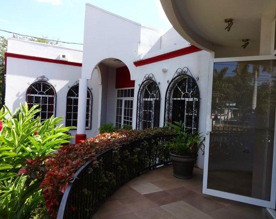 Hotel Executive Managua: Area de entrada