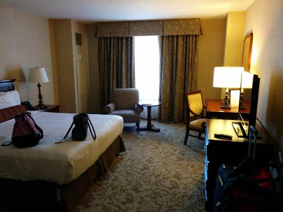 Monte Carlo Resort & Casino: Room and window on arrival
