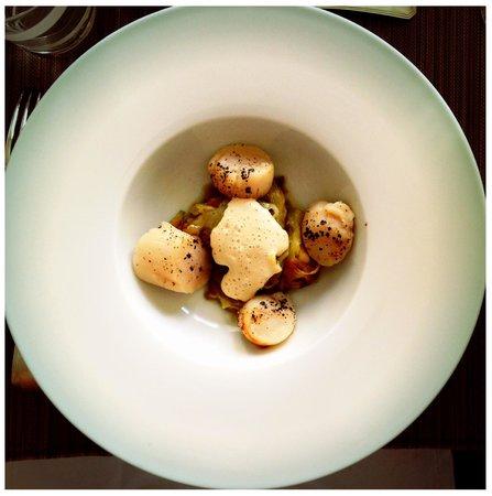 Ooh La La Food: Scallops and leeks
