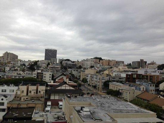 Hotel Kabuki, a Joie de Vivre hotel: Fresh Air, view from my balcony