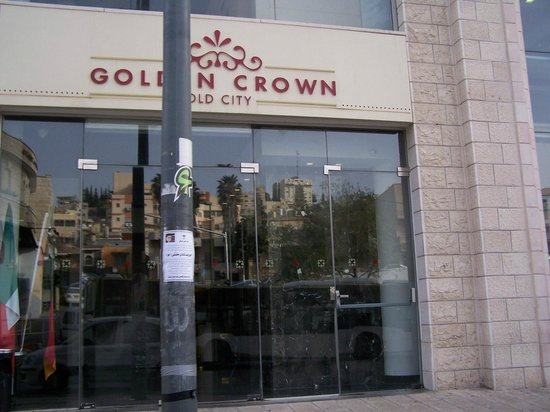 Golden Crown Old City Hotel : Front of the hotel