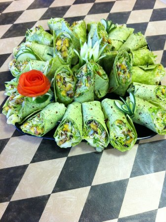 Suncoast Cafe: Catering Tray - Wraps