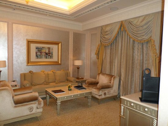 Emirates Palace : Part of a suite