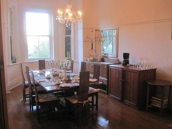 Esperanza Guest House: Breakfast area