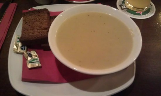Potato and leek soup - Picture of The Dail Bar, Galway - TripAdvisor