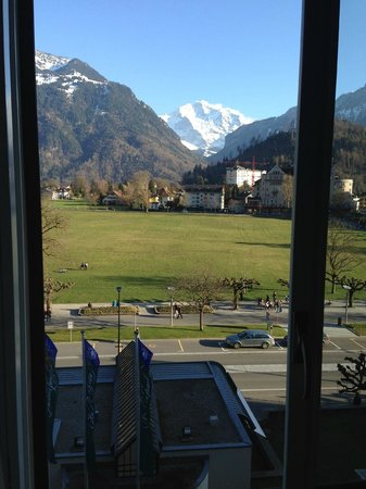 Victoria Jungfrau Grand Hotel & Spa: View from our room