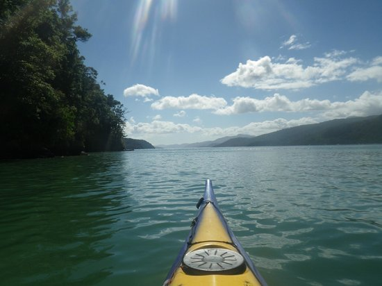 Sea Kayak Adventures: Kayaking out on the sounds