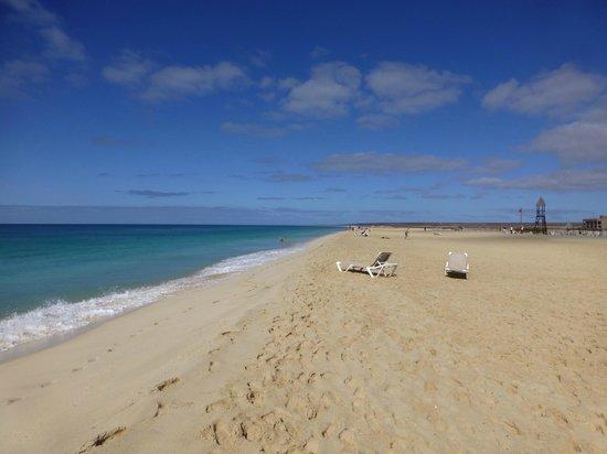 Hotel Riu Touareg: Hotel Beach