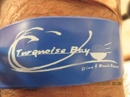 Turquoise Bay Dive & Beach Resort: Pulsera