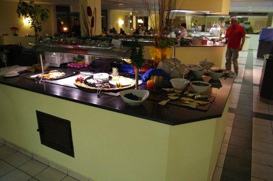 Playitas Hotel: Middagsbuffén