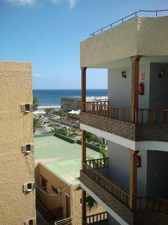 Apartamentos Tarahal : vista dal balcone