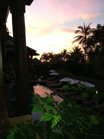 Deva Samui Resort & Spa: View from our room