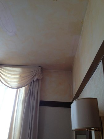 Hotel Andreotti : Leaked ceiling