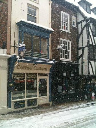 The marvelous and cosy Coffee Culture cafe