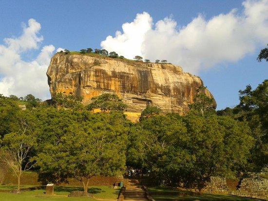 Sigiriya World Heritage Site: Roccia