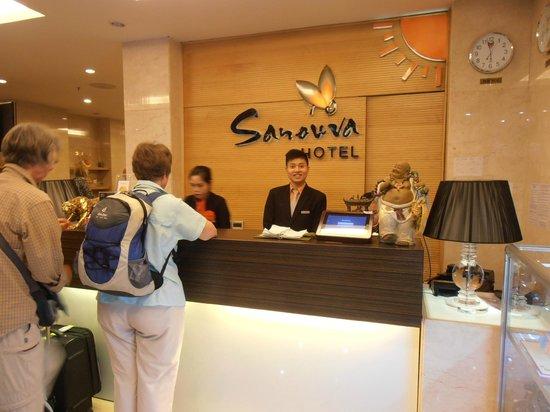 Sanouva Saigon Hotel: Reception