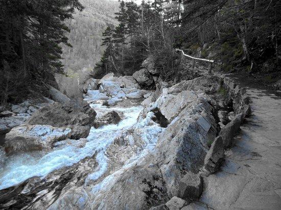 Glen Ellis Falls: Ellis River Falls Trail