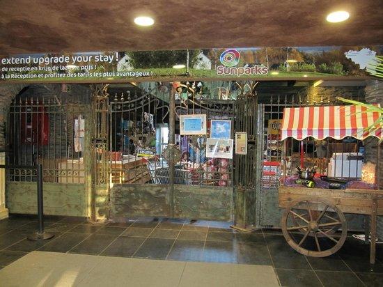 Sunparks Ardenne : Le magasin