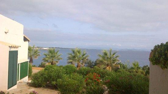 Hotel Club Punta Prima: Vista al atardecer desde la habitación