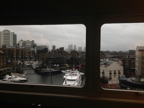 The Tower: View from the room of the harbour