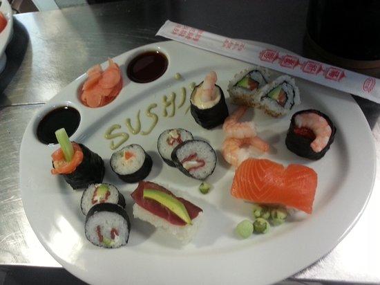 Bar du Soleil : sushi frais du jour fais maison !