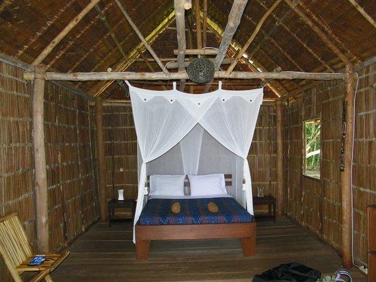 Raja Ampat Biodiversity Eco Resort: Our room, inside