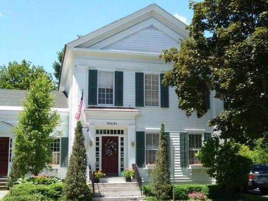 The White House Inn in spring