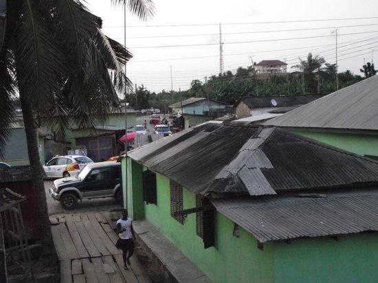 Busua Inn: Au coeur de Busua