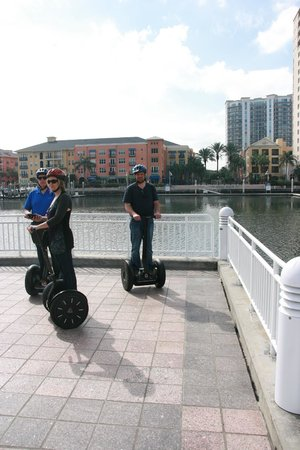 Magic Carpet Glide: Segway love!