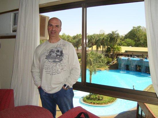 Exe Hotel Cataratas : vista desde la habitacion