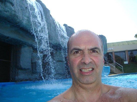 Exe Hotel Cataratas : en la pileta