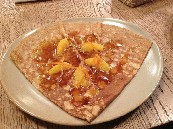 Breizh Cafe : Crepe Suzete