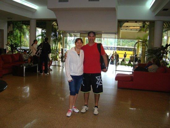 Exe Hotel Cataratas: lobby del hotel