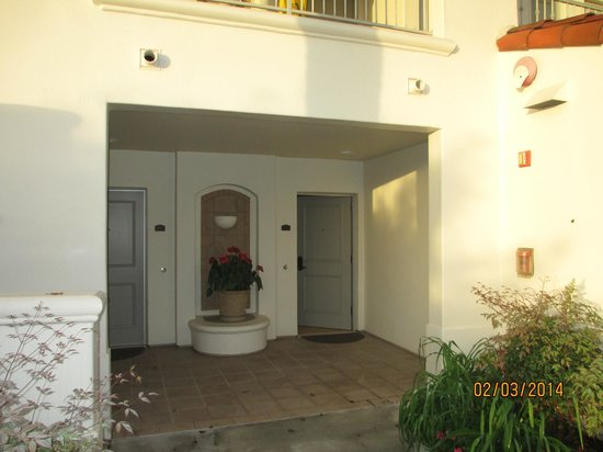 Four Seasons Residence Club Aviara, Carlsbad Ca. : Room entrance