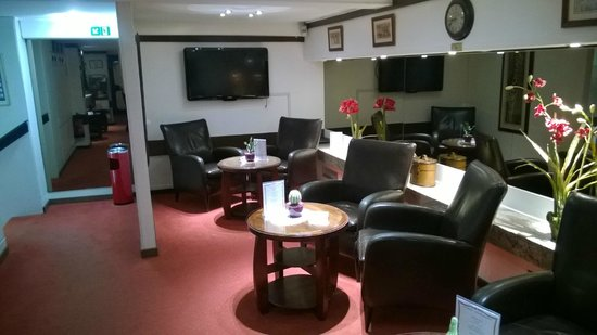 Hotel Central Molitor: Lounge/sitting room