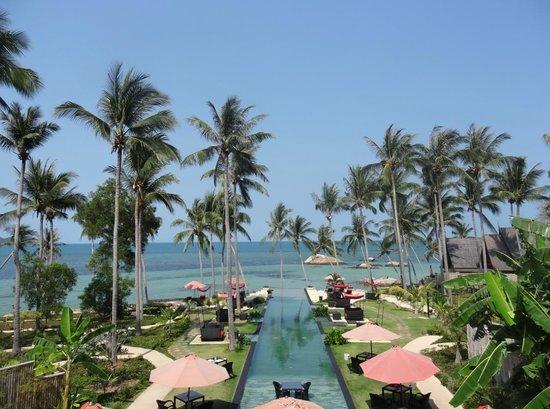 Kupu Kupu Phangan Beach Villas and Spa by l'Occitane: vue de la réception