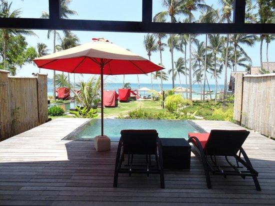"Kupu Kupu Phangan Beach Villas and Spa by l'Occitane: vue de la ""seaview pool villa"""