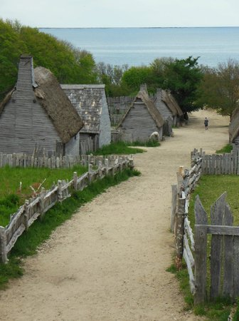 Plimoth Plantation : View from Meeting House