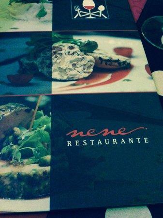 Restaurante Casa de las Piedras : menú