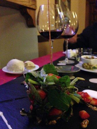 Restaurante Casa de las Piedras : salad