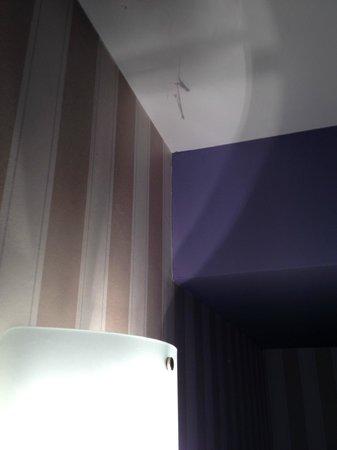 Residence Jean-Sebastien Bach: Moumoute de poussière au plafond