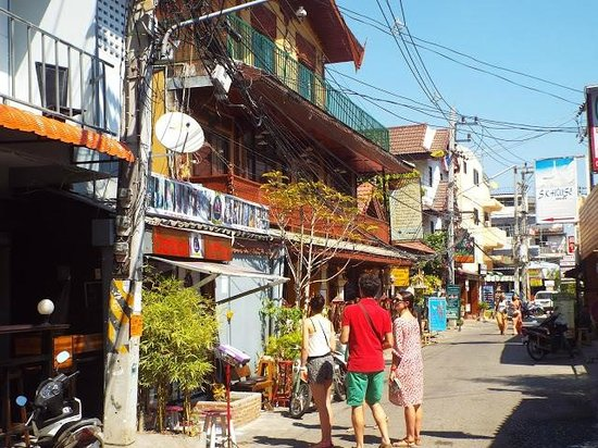 Sri Pat Guest House: la rue au coeur de la vieille ville